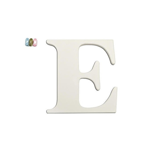 """Babies""""R""""Us E Letter Wall Decor Wooden Personalizable"""