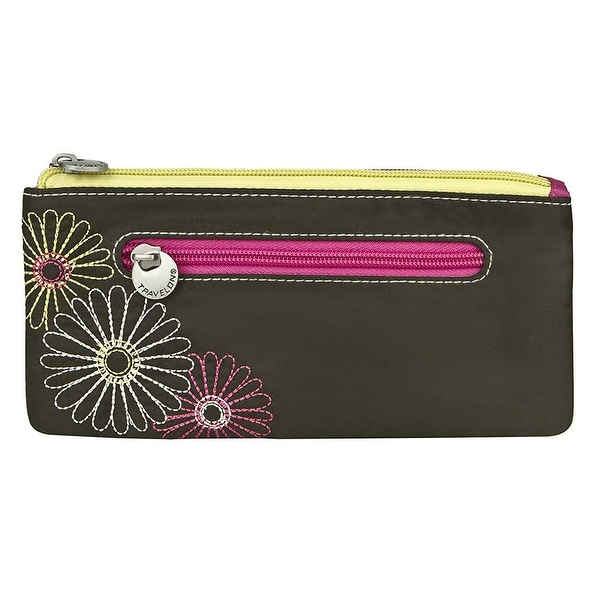 Travelon Safe ID Double Zip Clutch Wallet, Black