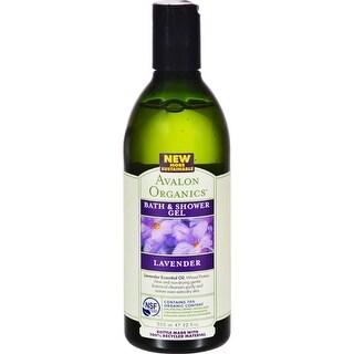 Avalon Organics - Bath And Shower Gel - Lavender ( 1 - 12 FZ)