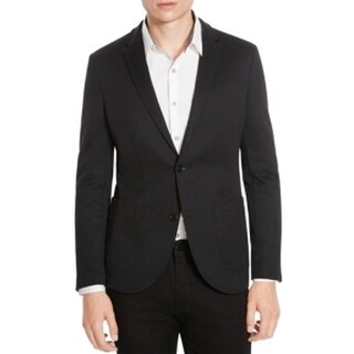 Kenneth Cole Reaction NEW Black Mens Size 2XL Two Button Blazer