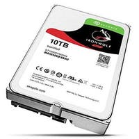 "Seagate Bulk St10000vn0004 10Tb Ironwolf 7200 Rpm Sata Iii 3.5"" Internal Nas Hdd"