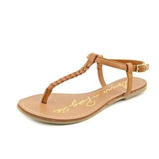 American Rag Kelli Women Open Toe Synthetic Brown Thong Sandal