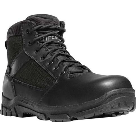 """Danner Men's Lookout Side-Zip NMT 5.5"""" Work Boot Black Leather"""