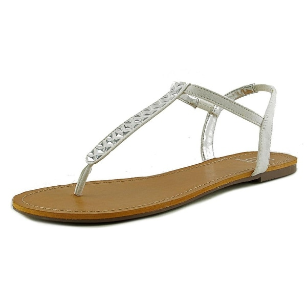Material Girl Sage Women White Sandals