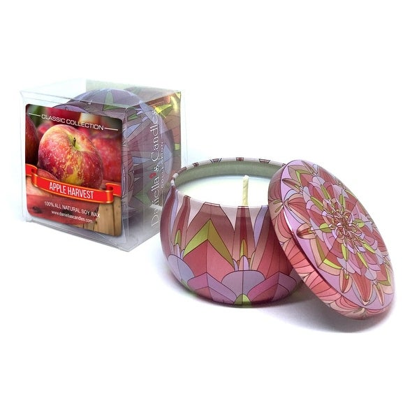 Apple Harvest Travel Tin Candle