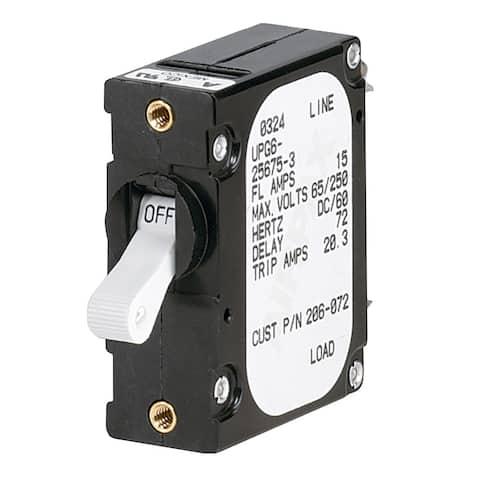 Paneltronics 'A' Frame Magnetic Circuit Breaker - 5 Amps - Single Pole