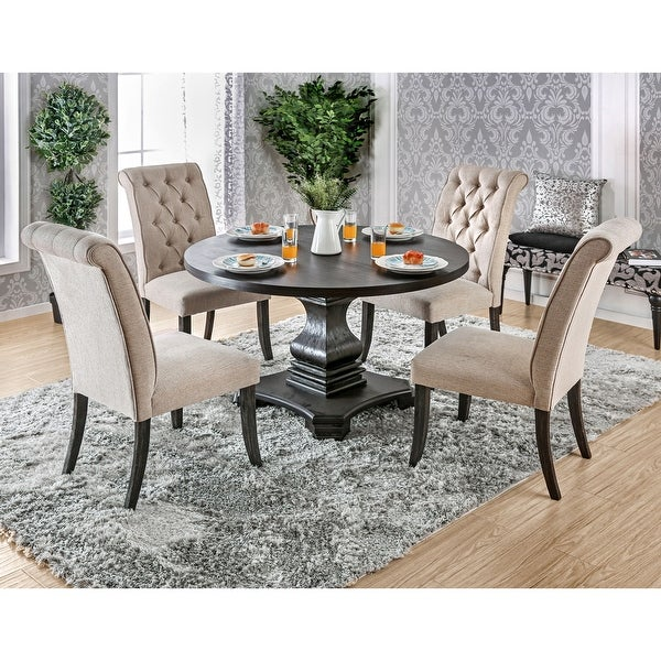 Copper Grove Kaolinovo 5-piece Dining Table Set. Opens flyout.