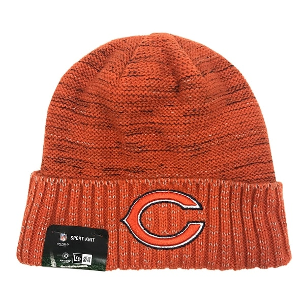 3bf699801 New Era Chicago Bears Knit Beanie Cap Hat Official NFL 2017 Kickoff 11461168