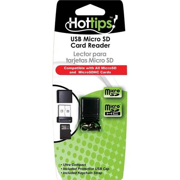 DDI 1917552 Hottips Micro SD Card Reader Case of 48