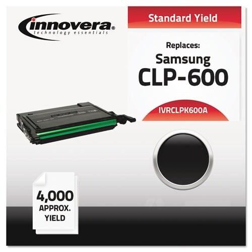 Innovera Compatible CLP-K600A Toner, Black Compatible CLP-K600A Toner, Black