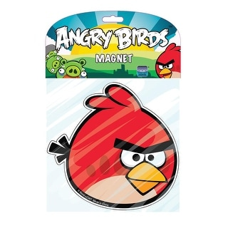"""Angry Birds 5"""" Flat Character Magnet: Red Bird"""