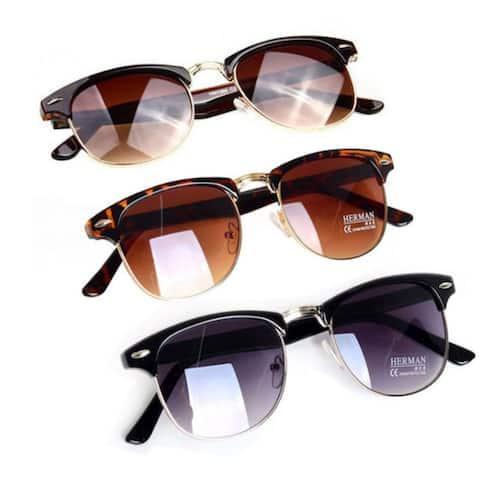 Fashion Retro Vintage Unisex Designer Oversized Sunglasses Glasses