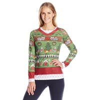 Ladies Ugly Christmas Sweater - Green