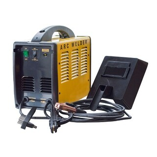 Offex Portable Automotive 70 Amp ARC 120V Welder - Yellow, Black - YELLOW