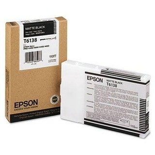 Epson UltraChrome K3 Ink Cartridge - Black Ink Cartridge
