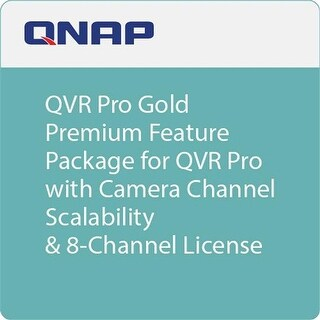 Premium Feature Package for QVR Pro with Camera Channel Scalabilit