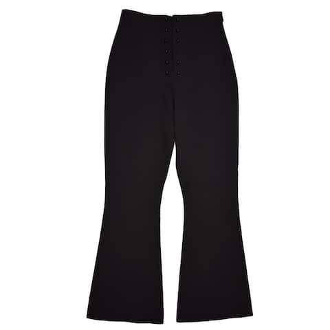Proenza Schouler Black Flared Pants Size 0