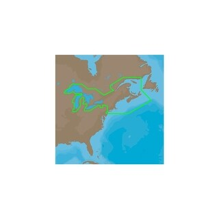 CMAP 4D NAD026 Great Lakes Northeast Coast and The Maritimes Full Content Great Lakes Northeast Coast and The Maritimes Full