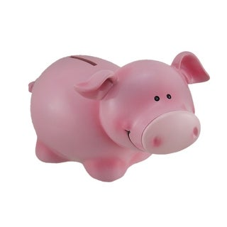 Precious Pink Pig Childrens Coin Bank