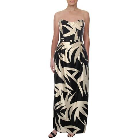 Julie Brown Womens Scarlett Evening Dress High Waist