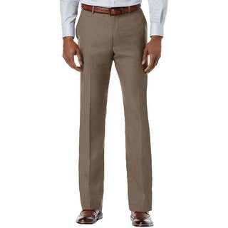 Perry Ellis Mens Dress Pants Slim Fit Heathered