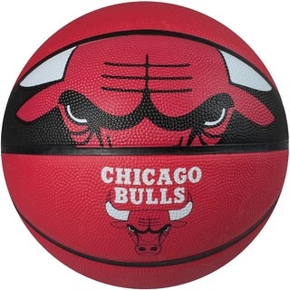 "Spalding SP-73058 NBA Chicago Bulls 29.5"" Outdoor Rubber Basketball"