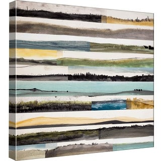 "PTM Images 9-97891  PTM Canvas Collection 12"" x 12"" - ""Neutral Plains #8"" Giclee Rural Art Print on Canvas"
