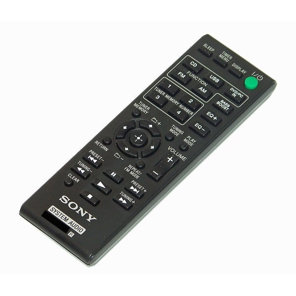 OEM NEW Sony Remote Control Originally Shipped With HCD-ECL5, HCDECL5