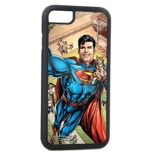 Action Comics Issue #34 Superman Flying W Cat Selfie Variant Cover Pose Fcg Cell Phone Case iPhone6 Rubber Case