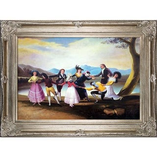 Francisco Goya 'Blind Man's Bluff' Hand Painted Oil Reproduction