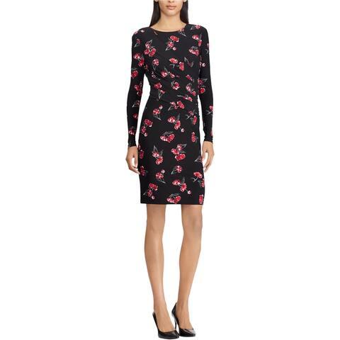 American Living Womens Floral-Print Jersey Dress