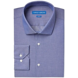 Vince Camuto Mens Dress Shirt Pattern Slim Fit