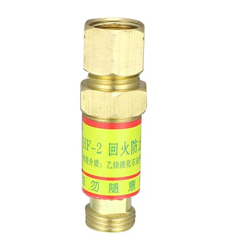 Acetylene Flashback Arrestor HF-2 Torch End M16 Thread Size for Welding