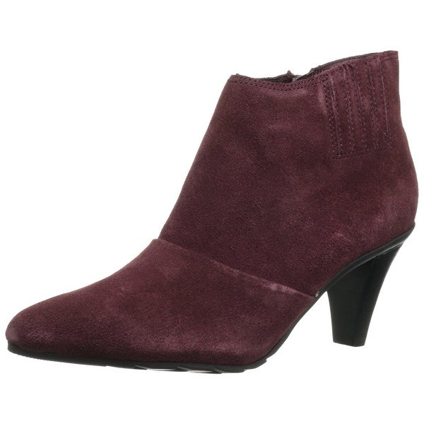 Kenneth Cole Reaction Womens Hill N Spill Leather Pointed Toe Ankle Fashion B...