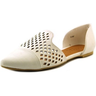 Coconuts By Matisse Elective Round Toe Synthetic Flats