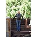 Men Moto Style Leather Jacket Black FJ2 - Thumbnail 2
