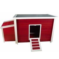 New Age Pet Ecoflex Fontana Chicken Barn, Red