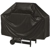 "Char-Broil 9525886 Full Length Vinyl Grill Cover, 52"", Black"