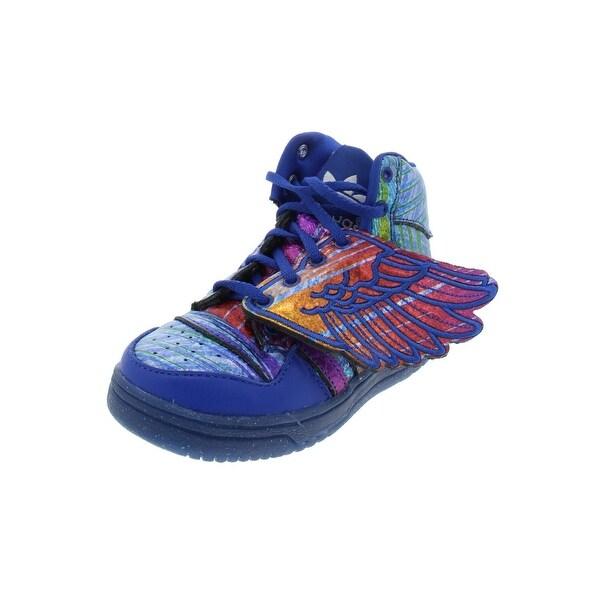 5d5eb8afa682 adidas Originals Girls JS Wings I Fashion Sneakers Toddler Ortholite - 6.5  Medium (B