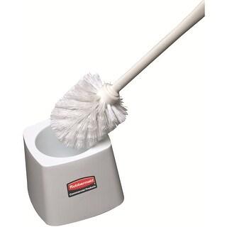 Rubbermaid FG631100WHT Toilet Bowl Brush Holder For 6310 Brush, White