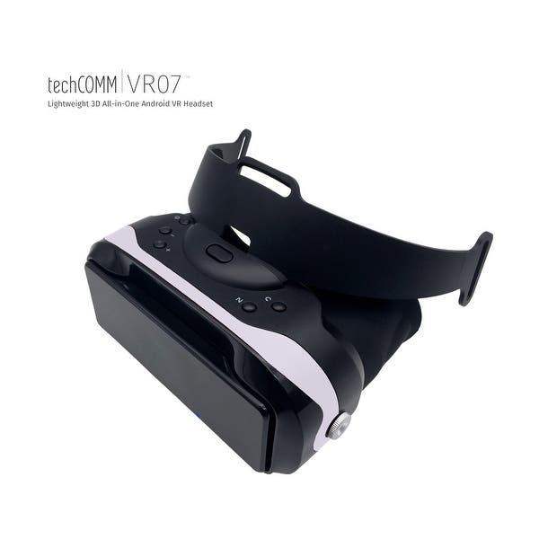 Shop TechComm Pluto Lightweight 3D All-in-One Android VR Headset