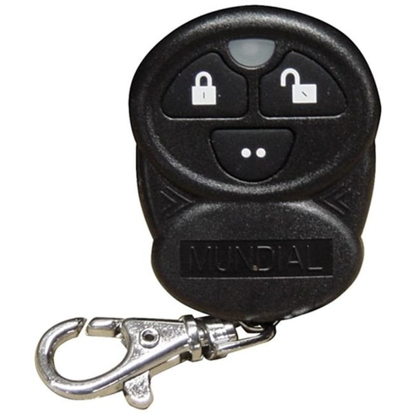 Omega Replacement Transmitter for Mundial-3 3 Button, Black