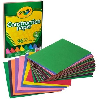 "Crayola Construction Paper Pad 9""X12""-96 Sheets"