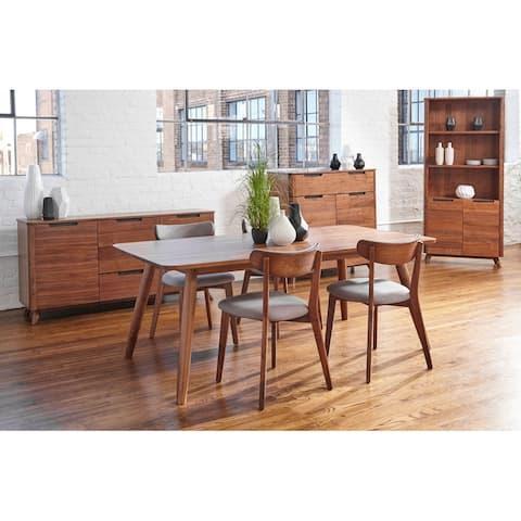 Kirkwood American Walnut Mid Century 77-inch Dining Table