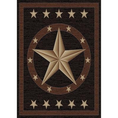 Mayberry Hearthside Western Star Lodge Area Rug