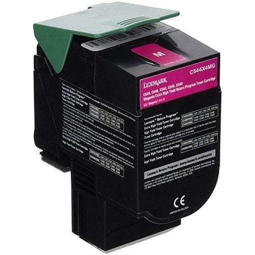 """Lexmark Extra High Yield Toner Cartridge - Magenta C544X4MG Extra High Yield Toner Cartridge - Magenta"""