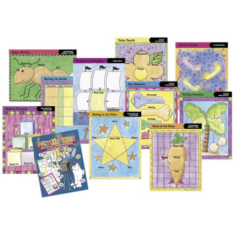 Barker Creek Picture This! Graphic Classroom Organizers, Set of 11