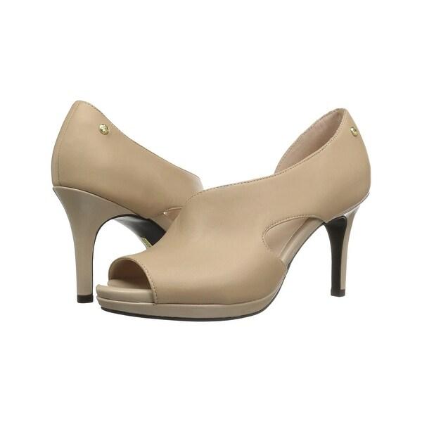 L S Revolution Womens Addict Peep Toe D-orsay Pumps - 10