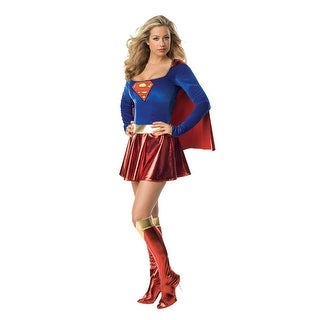 Rubies Superman Secret Wishes Supergirl Adult Costume - Solid