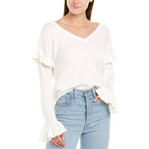 Bb Dakota Ruffle Sweater